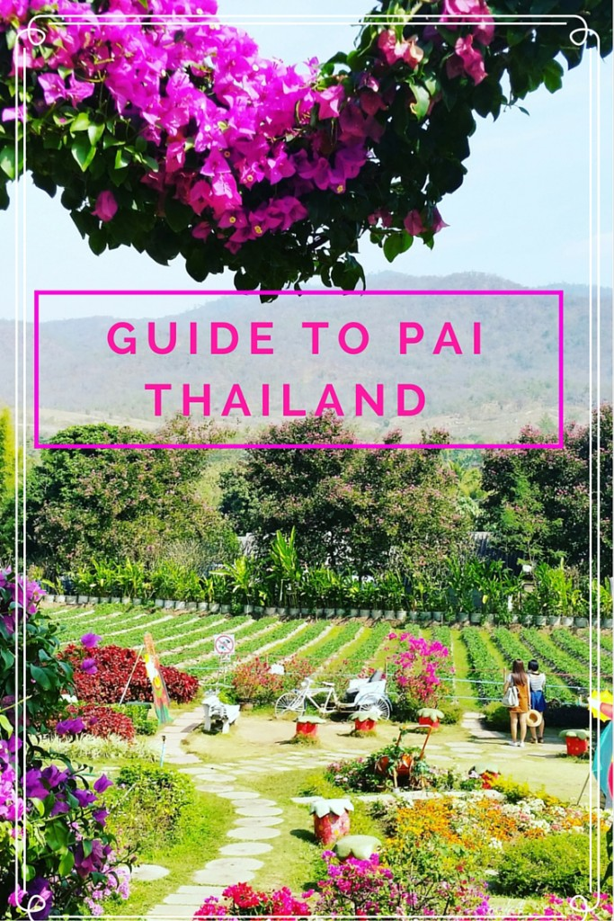 Guide to Pai Thailand