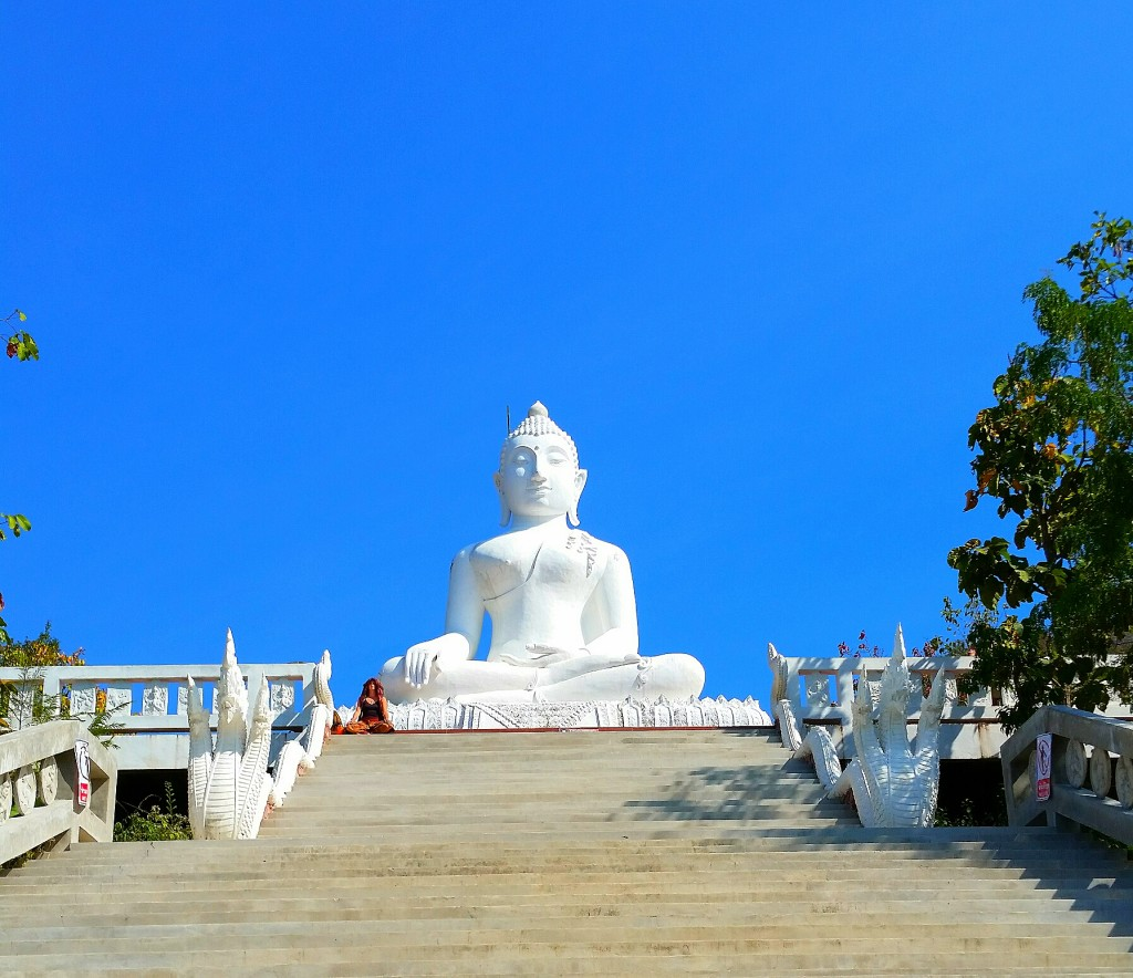 pai travel guide Time Travel Blonde White Temple
