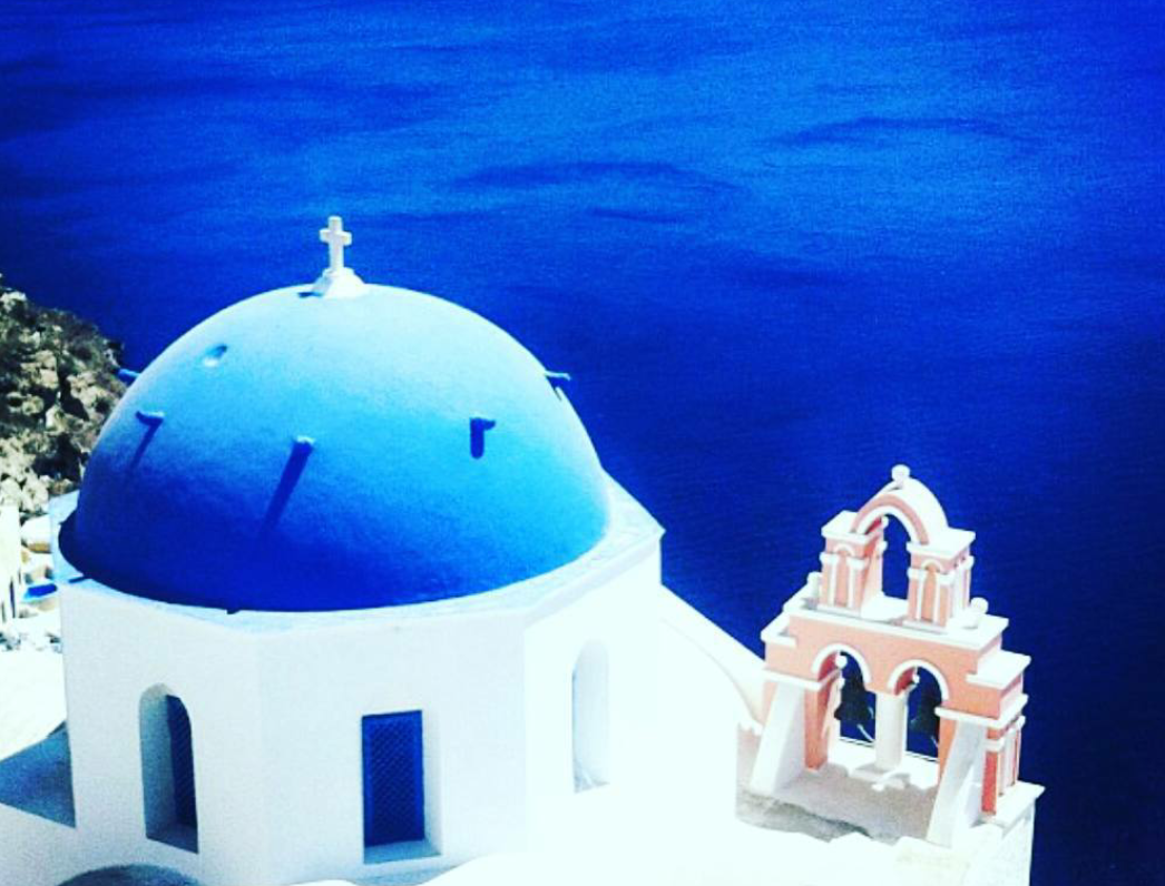 santorini greek churches