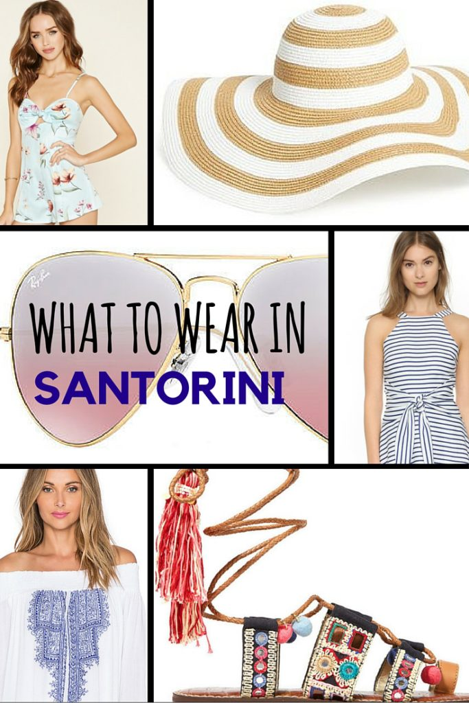 what to wear in santorini