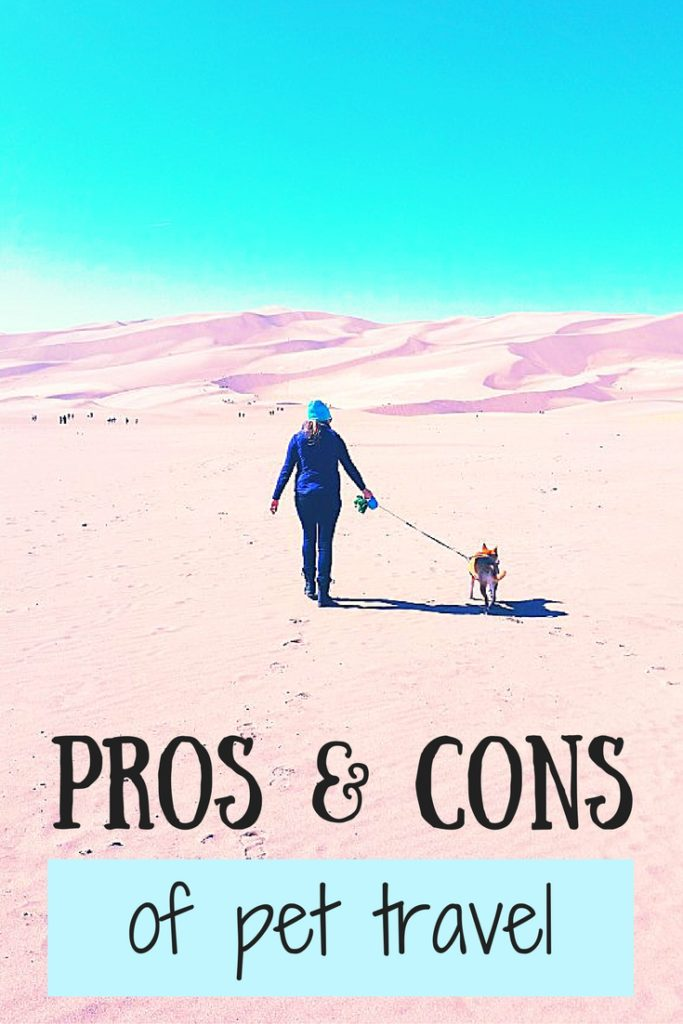 pros and cons of pet travel national parks colorado