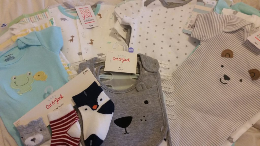 baby clothes from target