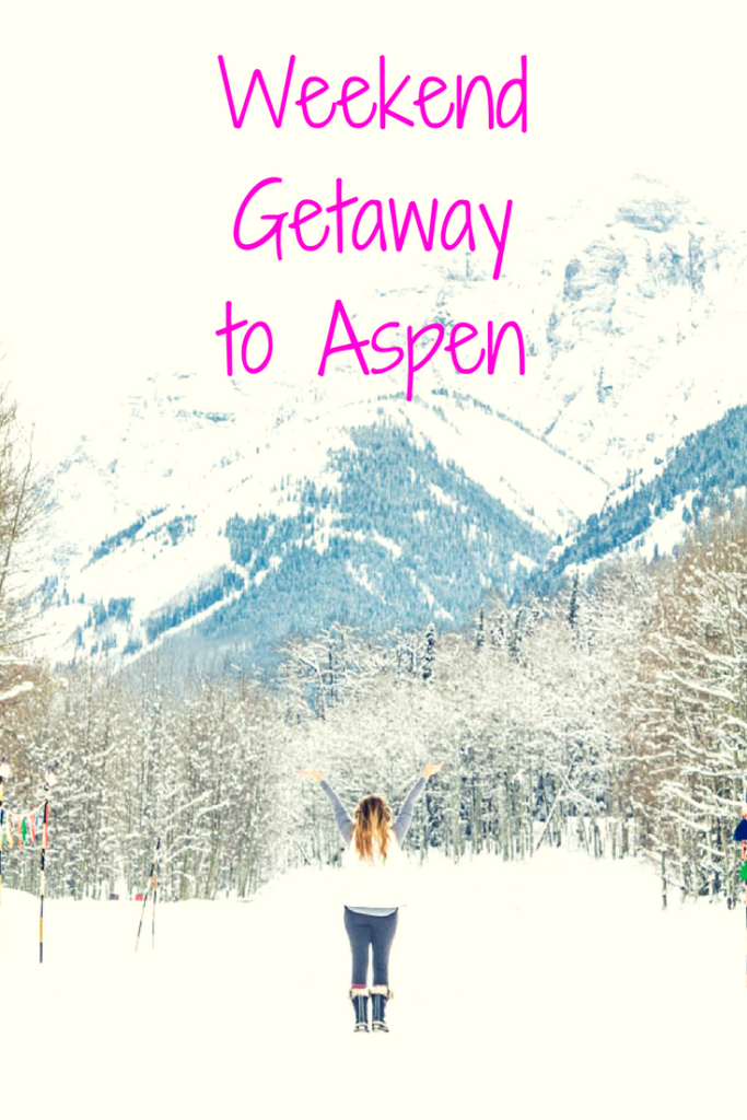 aspen colorado weekend getaways winter wonderland ski snow towns