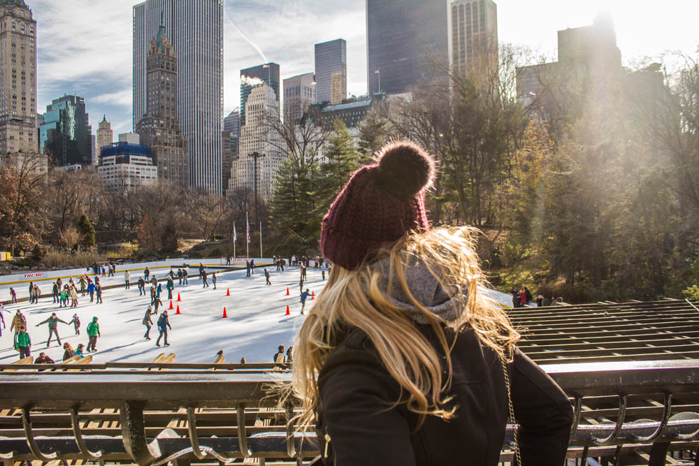 wollman rink central park nyc sites