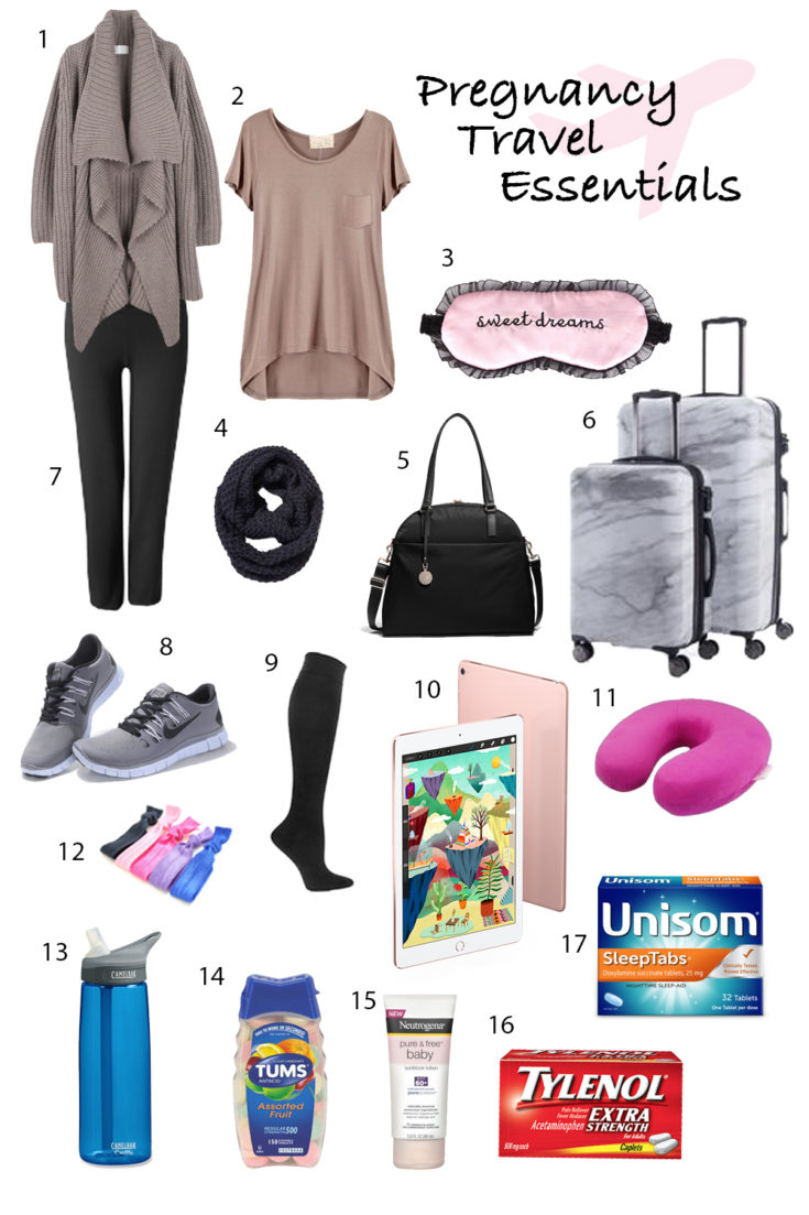 Pregnancy-Travel-Essentials