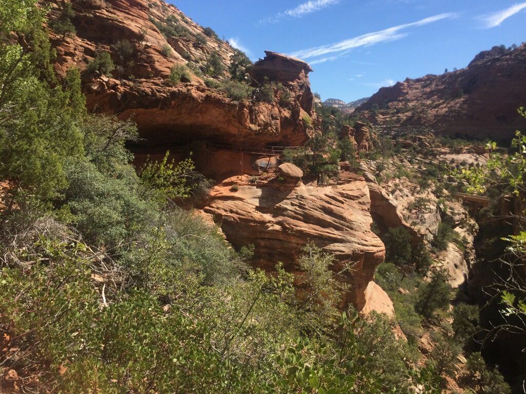 canyon overlook trail zion national park utah