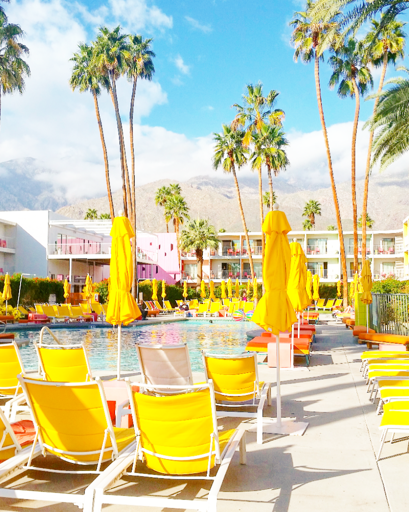 most instagramable places fun palm springs hotels