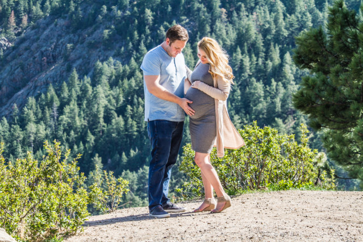 maternity photos boulder colorado