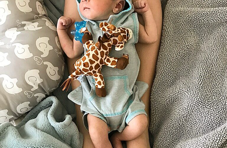Camden is One Month Old!